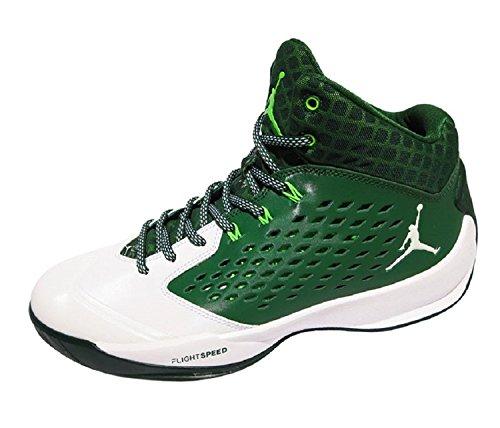 42 Jordan m Shoes Mens 5 Verde Eu 9 D bianco Uk Rising High 8 Nike Basketball zqw1TdT