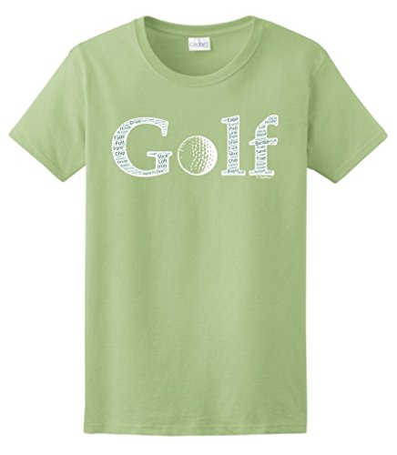 Golf Plus Size T-shirt - ThisWear Plus Size Golf Golf Word Collage Golfer Golfing Gift Ladies T-Shirt 3XL Pstch