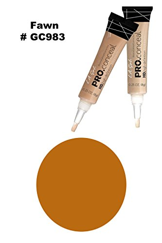 L.A. Girl Pro Concealer 3 x GC983 Fawn HD. High Definition Liquid Concealer