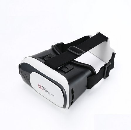 2016 REMAX VR Box Head Mount Plastic Virtual Reality 3D Glasses For 3.5-6.0 inch IOS and Android Smartphone