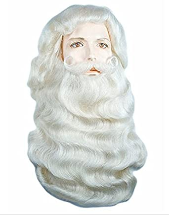 4d20d6c533e Image Unavailable. Image not available for. Color: Santa Claus Yak Hair Wig  & Beard ...