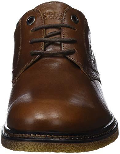 Brogue Zapatos Cordones Tapiocca Coronel Marrón coñac 0 De Caballero Hombre Para AIdXxwxEq