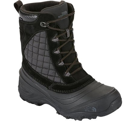 The North Face Boys' Thermoball Utility Boots - black/darkshadowgrey, 6 youth