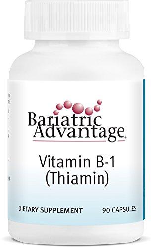 Bariatric Advantage - Vitamin B-1 Thiamine Capsules, 90 Count