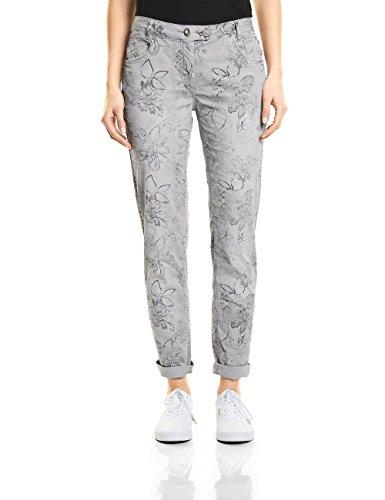 31294 Donna cool Pantaloni Cecil Grigio Silver qXxPYS1w