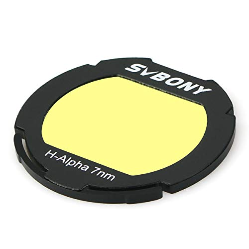 SVBONY H-Alpha 7nm Canon EOS-C Clip Filter Narrowband Astronomical Photographic CCD Filter for Deep Sky ()