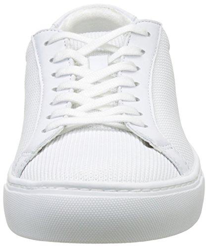 Cam Ginnastica L Wht 12 2 da Bianco Uomo Scarpe 12 Basse BL Lacoste 7CXq8xC