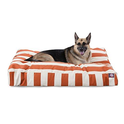 Orange Vertical Stripe Rectangle Pet product image