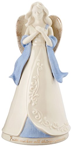 Lenox Gifts of Grace Musical Figurine,Faith Makes All Things ()