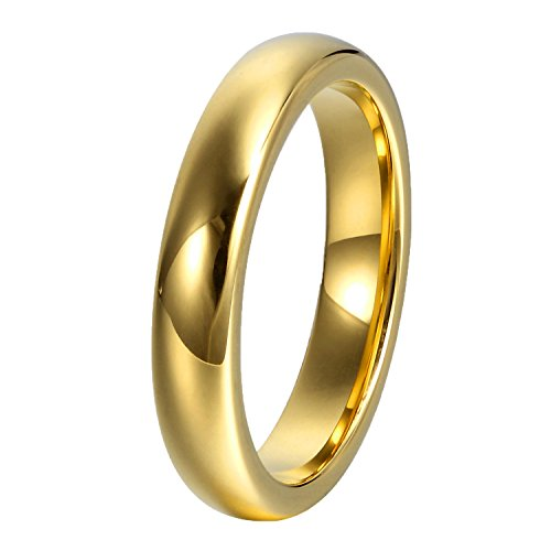 GER Engagement Wedding Polished Tungsten