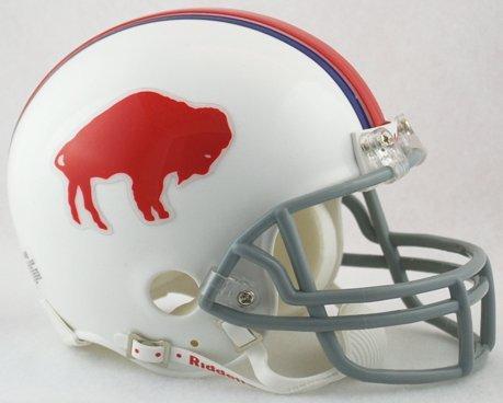 Riddell Buffalo Bills AFL 50th Anniversary Replica Mini Helmet