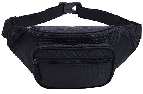 Waist Pack Bum Bag for Running Cycling Traveling - 3