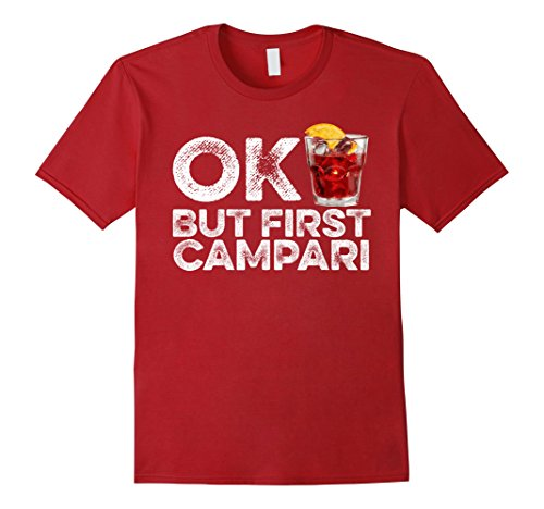 mens-ok-but-first-campari-t-shirt-funny-drinking-alcohol-cool-tee-xl-cranberry