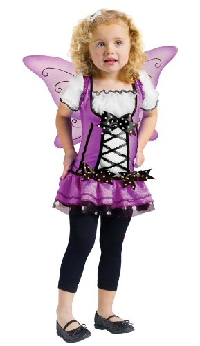 Lilac Fairy Toddler Costume (3T-4T) (Lilac Angel Toddler Costume)