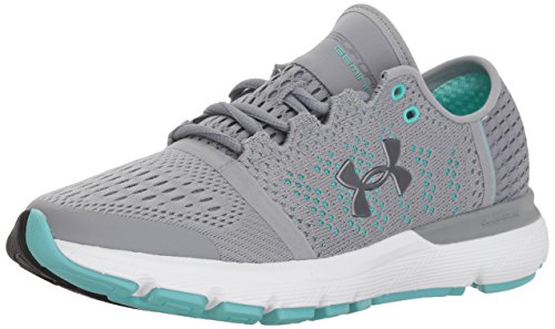 Donna Grey Scarpe W UA Vent Speedform Gemini Running Armour Under Bgwqag