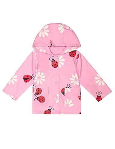 Hooded Kids Raincoat - 7