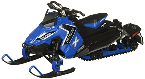 Polaris Shelf - NewRay 57783B 1:16 Snowmobile-Polaris 800 Switchback Pro-X-Blue Diecast Vehicle, Blue
