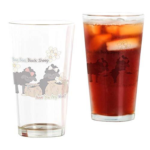 CafePress Baa Baa Black Sheep Pint Glass, 16 oz. Drinking - Baa Sheep