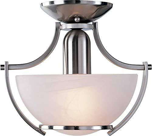 Monument 617574 Pendant, Brushed Nickel, 10-3 4 X 9-1 2 In.