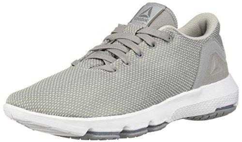 (Reebok Men's Cloudride DMX 3.0 Walking Shoe, tin grey/skull grey/white, 11.5 M US)