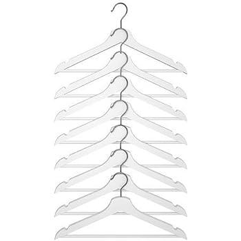 Amazing Ikea Hanger Wood Clothes Coat (8 Pack) White Bumerang