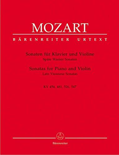 Viennese Sonatas - Mozart: Violin Sonatas - Late Viennese Sonatas