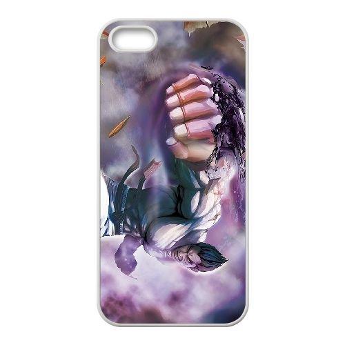 Street Fighter X Tekken 6 coque iPhone 5 5s cellulaire cas coque de téléphone cas blanche couverture de téléphone portable EEECBCAAN03872