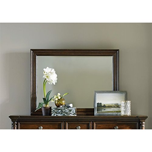 Hooker Furniture Leesburg Landscape Mirror in Mahogany ()