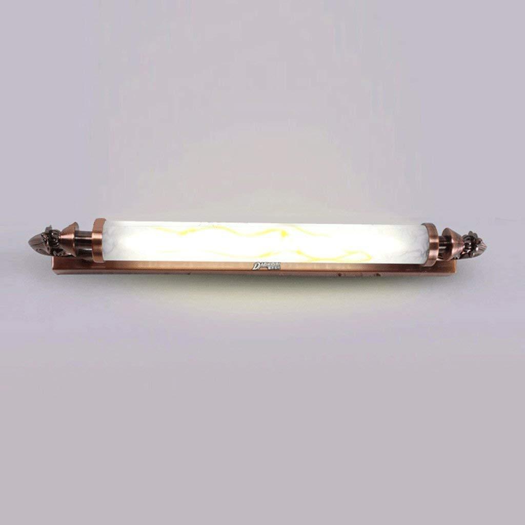 FXING Spiegel vorne Licht LED Kunstmarmor Badezimmer Spiegel Licht, Badezimmer Spiegelschrank Beleuchtung (Größe  8 W 45 cm)