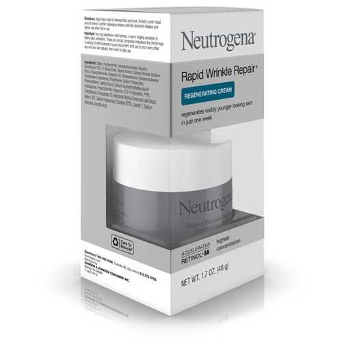 Price comparison product image NeutrogenaRapid Wrinkle Repair Face Cream,  1.7 Ounce -- 12 per case.