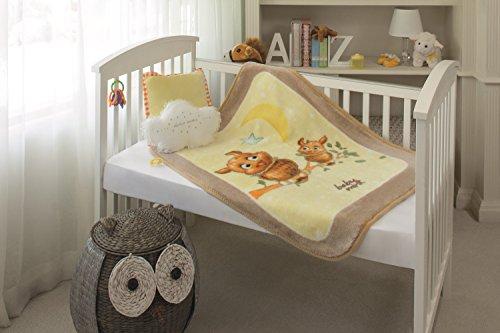 Baby Mink - Ultra Soft Plush Fleece Blanket Moonlight Magic