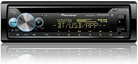 Pioneer DEH-S6100BS CDレシーバー 拡張オーディオ機能付き スマート同期アプリ互換性/MIXTRAX/内蔵Bluetooth/SiriusXM-Ready搭載