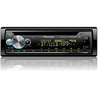 Sale Pioneer DEH-S6100BS CD Receiver Enhanced Audio Functions Smart Sync App Compatibility/MIXTRAX/Built-in Bluetooth/SiriusXM-Ready