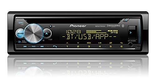 PIONEER DEH-S6100BS CD Receiver with Enhanced Audio Functions Smart Sync App Compatibility/MIXTRAX/Built-in Bluetooth/SiriusXM-Ready