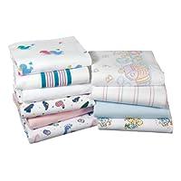 3pk Baby Blankets, Nursery Receiving Blankets (Dinasour Print-3pk)