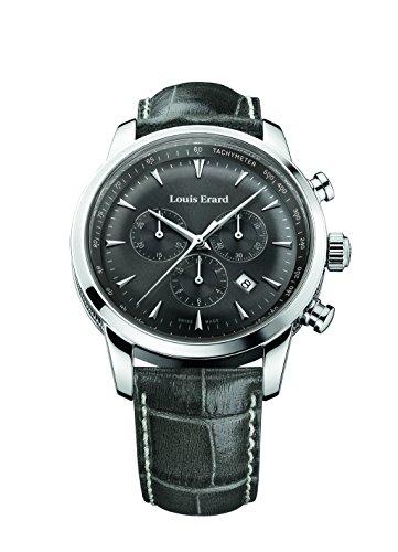 Louis Erard Heritage Collection Swiss Quartz Grey Dial Men's Watch 13900AA03.BDC103