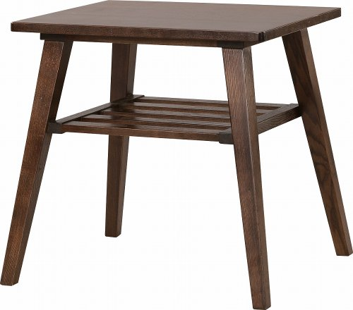 Cheap AZUMAYA Coffee Side Table (already assembled.) Natural Solid Ash Wood Brown RTO-743TBR
