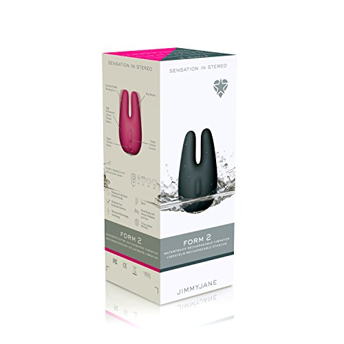 Jimmyjane Form 2 Usb Waterproof Vibrator, Pink, Pink, Best Sex Machines and Sex Robots - Sybians, Vibrators, Lovebotz