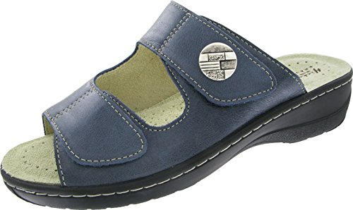 Hickersberger Kräuterschuhe Damen Milano - Pantolette Blau