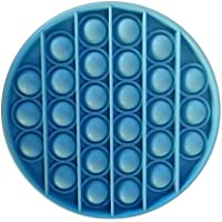 Heyeam 1x Fidget Sensory Toys Push Pop Pop Bubble Sensory Fidget Toy Stress Relief Special Needs Silent Classroom (Dark…