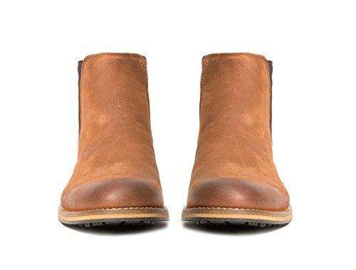 Shoeology Thompson Marrone Chelsea Boot Marrone