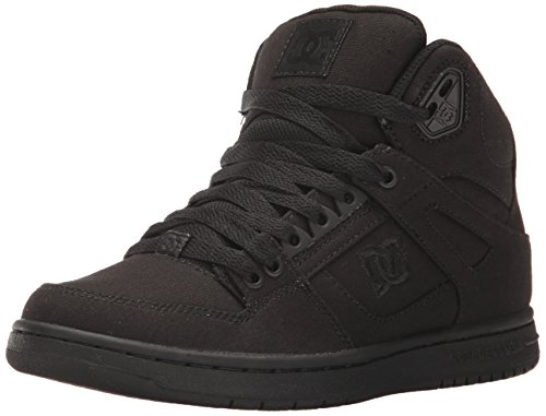 DC Women's Rebound High TX, Black/Black/Black, 8.5 B US