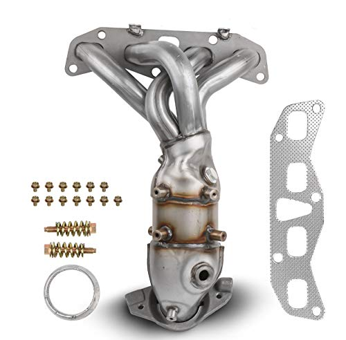 - MOSTPLUS Front Exhaust Manifold Catalytic Converter w/Gasket For 2002 2003 2004 2005 2006 Nissan Altima 2.5L Replaces 674-659