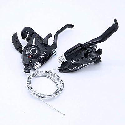 1 Pair V-Brake Front 21 Speed Shimano ST-EF51 V-Brake 3x7 Shifter//Brake Lever