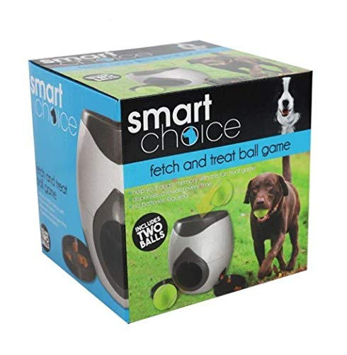 SmartChoice Interactive Game Dog Training Rewards Dog Interactive Fetch-&-Treat Dog Toy 1