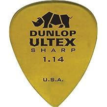 Dunlop 433R114 1.14mm Ultex Sharp Guitar Picks, 72-Pack (24433114033)