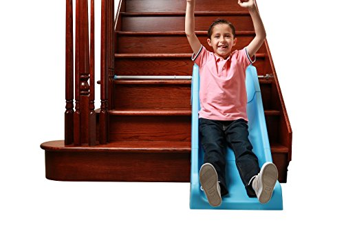 Indoor Stair Slide Toy playset Toys – Kids/Toddler/Boys/Girls Safe Playground Children on Stairs – Parents/Grandparents Gifts to Your Precious Ones by SLIDEWHIZZER (Image #1)
