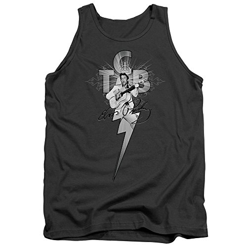 Elvis Presley - TCB Ornate - Adult Tank Top - Large (Tcb Lite Hair And Scalp Conditioner Discontinued)