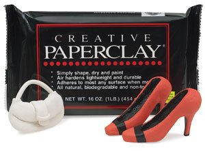 Creative Paperclay for Modeling Compound, 16-Ounce, -