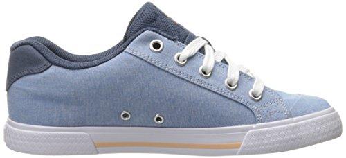 Dc Femmes Chelsea Tx Se Sneaker Marine Blanc